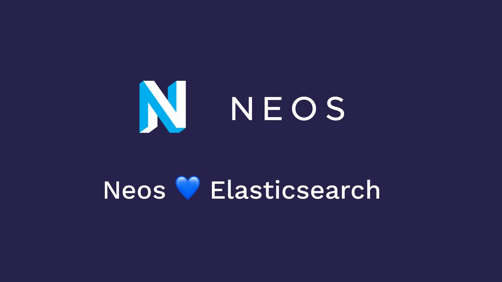 Neos  Elasticsearch