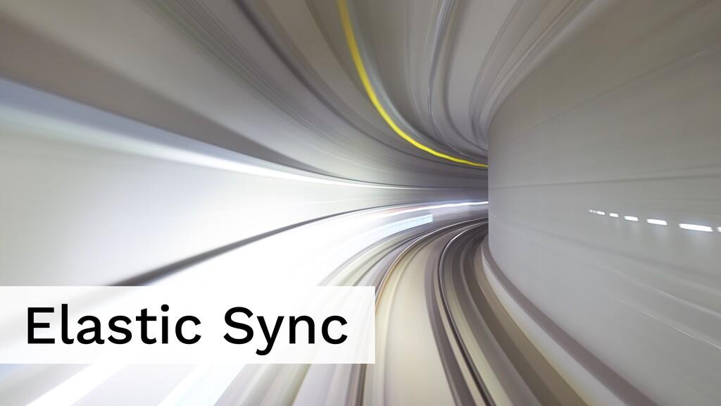 Elastic Sync