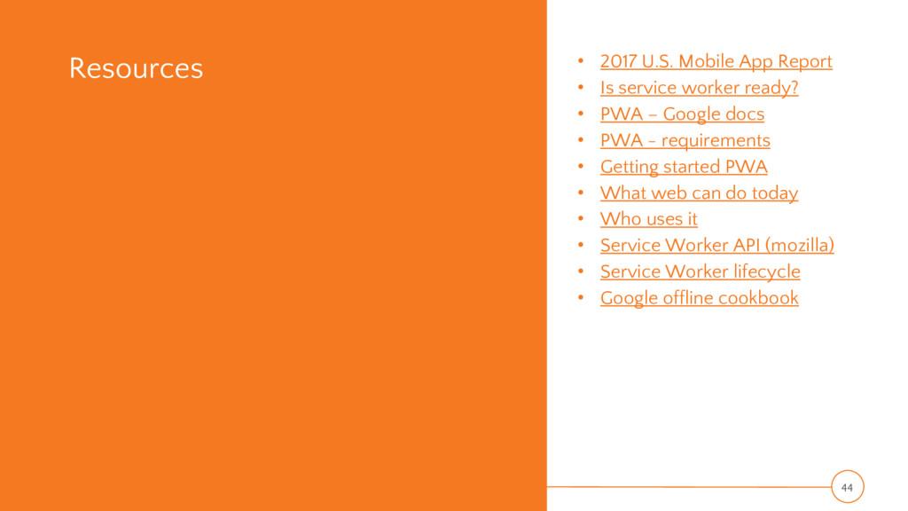 Resources • 2017 U.S. Mobile App Report • Is se...
