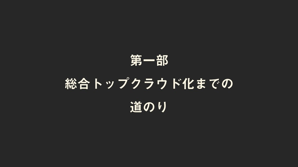 ୈҰ෦ ૯߹τοϓΫϥυԽ·Ͱͷ ಓͷΓ