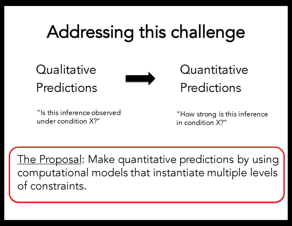 Addressing this challenge Qualitative Predictio...