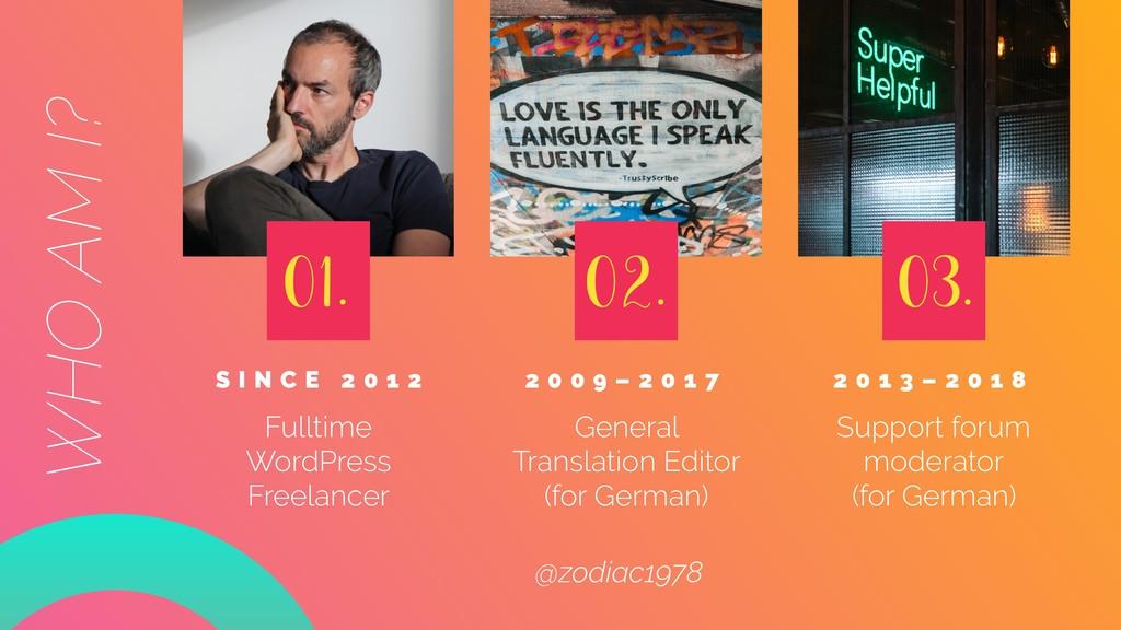 S I N C E 2 0 1 2 Fulltime WordPress Freelance...