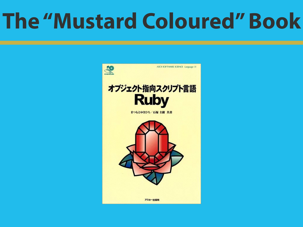 "The ""Mustard Coloured"" Book"
