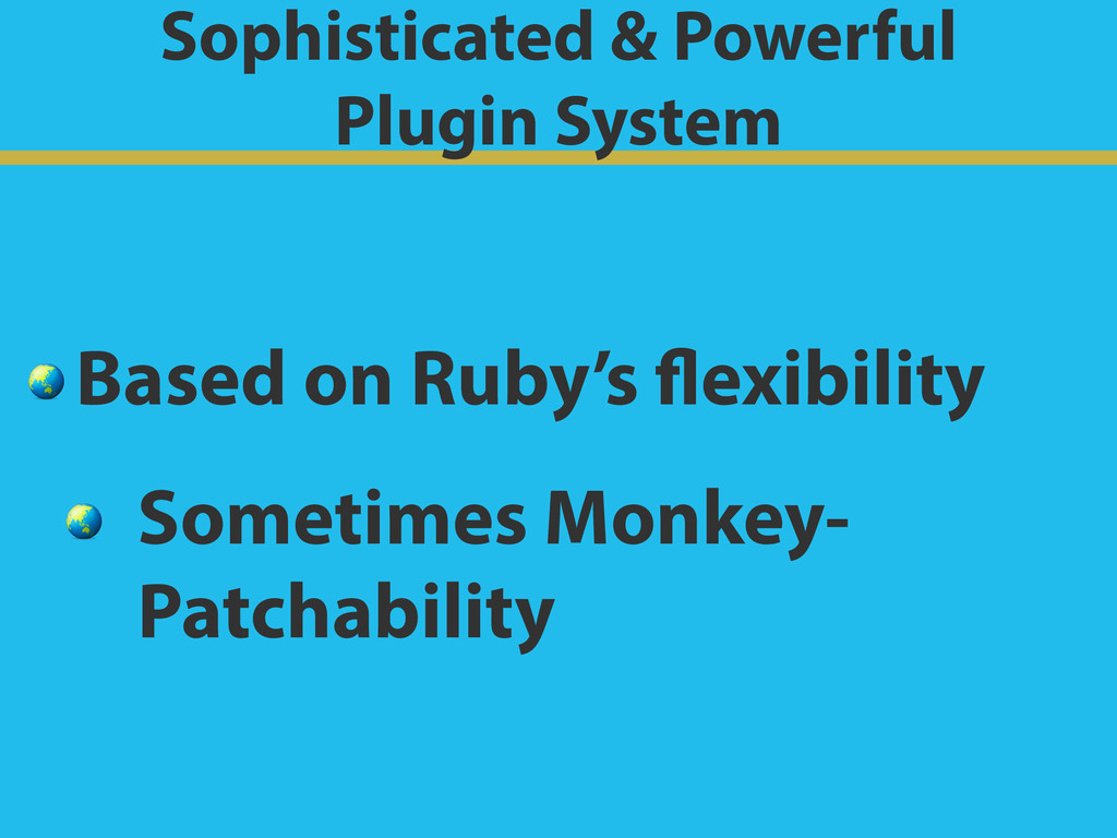 Sophisticated & Powerful Plugin System  Based ...