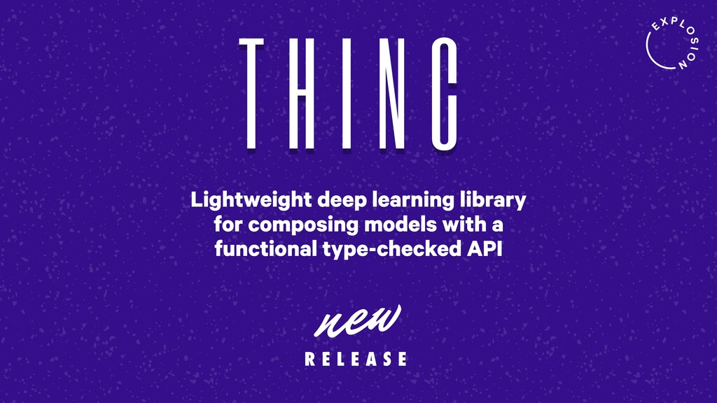 Lightweight deep learning library for composing...