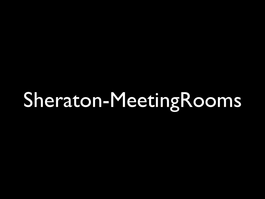 Sheraton-MeetingRooms