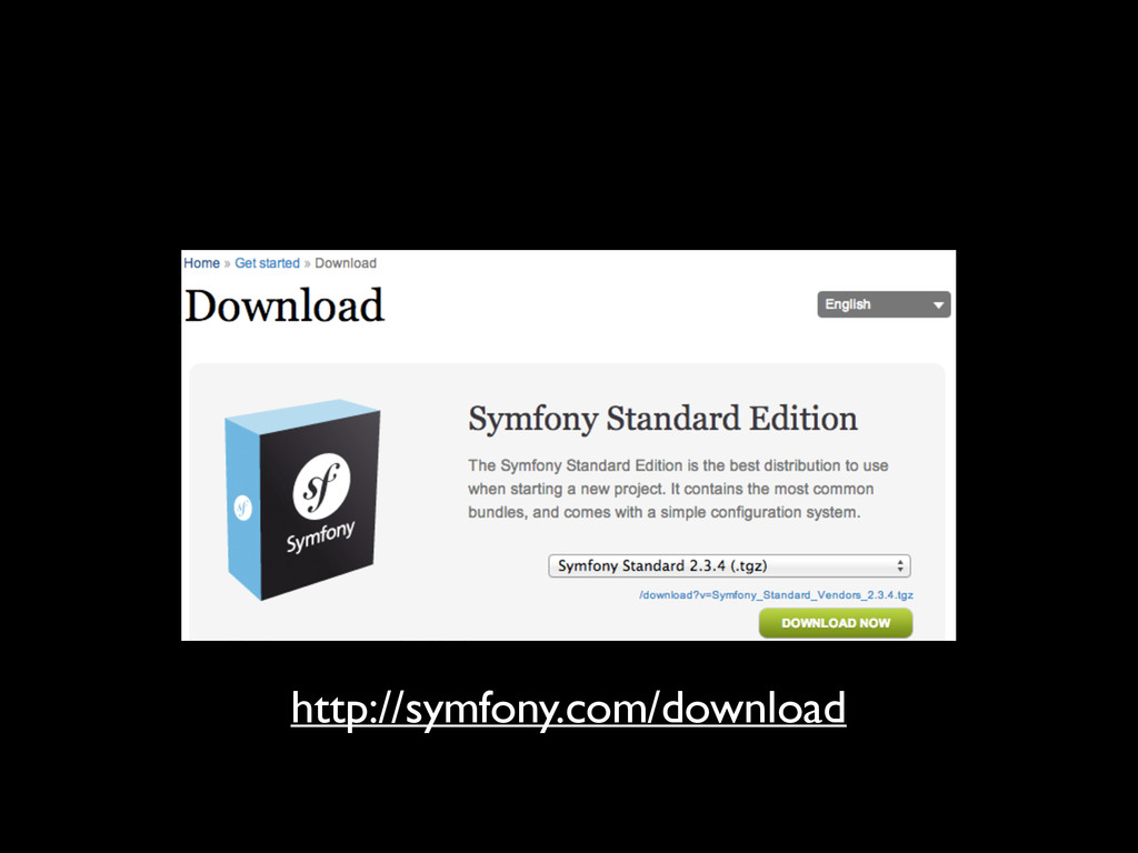 http://symfony.com/download