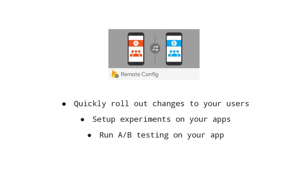 ● Quickly roll out changes to your users ● Setu...