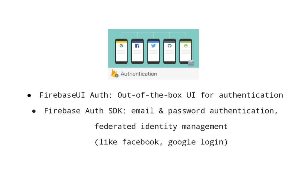 ● FirebaseUI Auth: Out-of-the-box UI for authen...