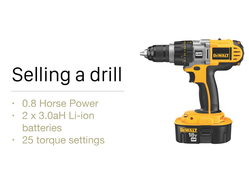Selling a drill • 0.8 Horse Power  • 2 x 3.0aH ...