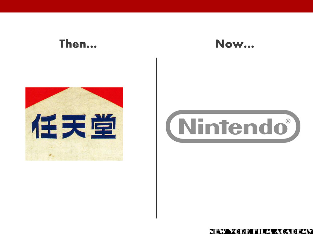 Then… Now…