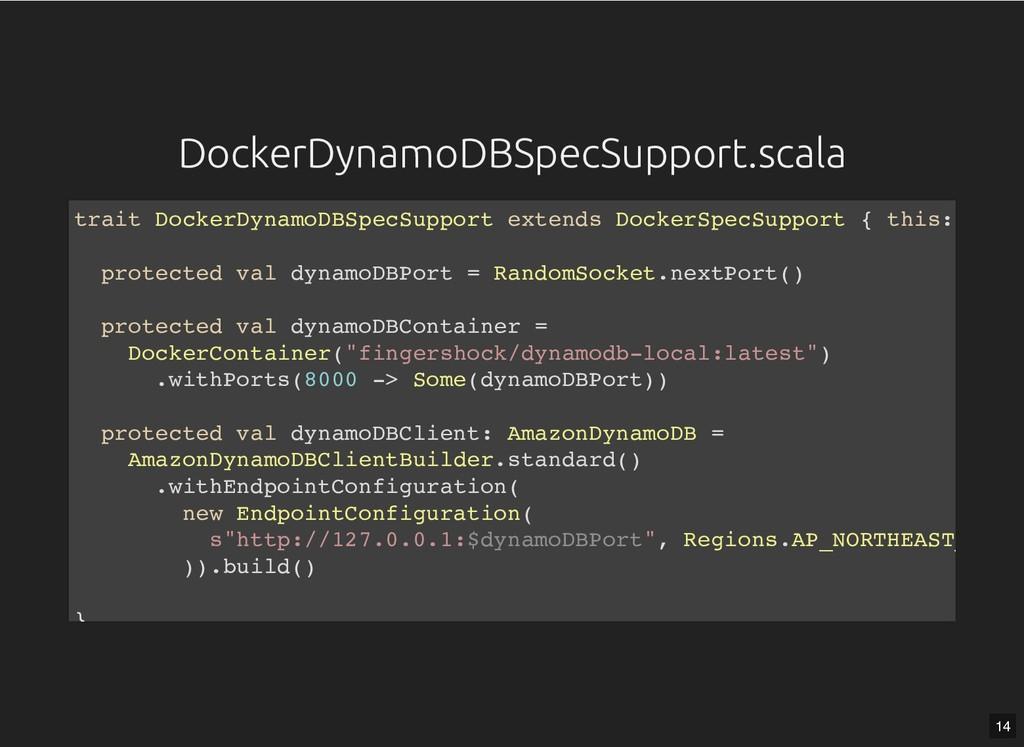 DockerDynamoDBSpecSupport.scala DockerDynamoDBS...