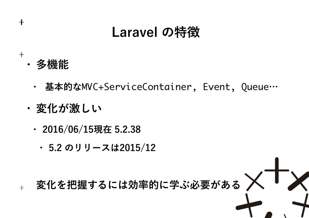 -BSBWFMͷಛ w ଟػ w جຊతͳMVC+ServiceContainer,...