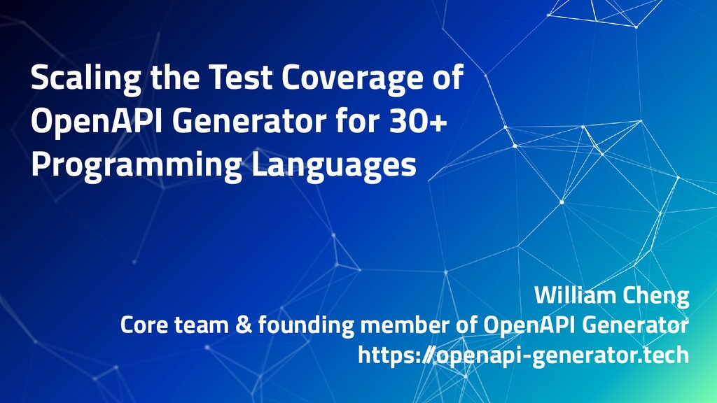 Scaling the Test Coverage of OpenAPI Generator ...