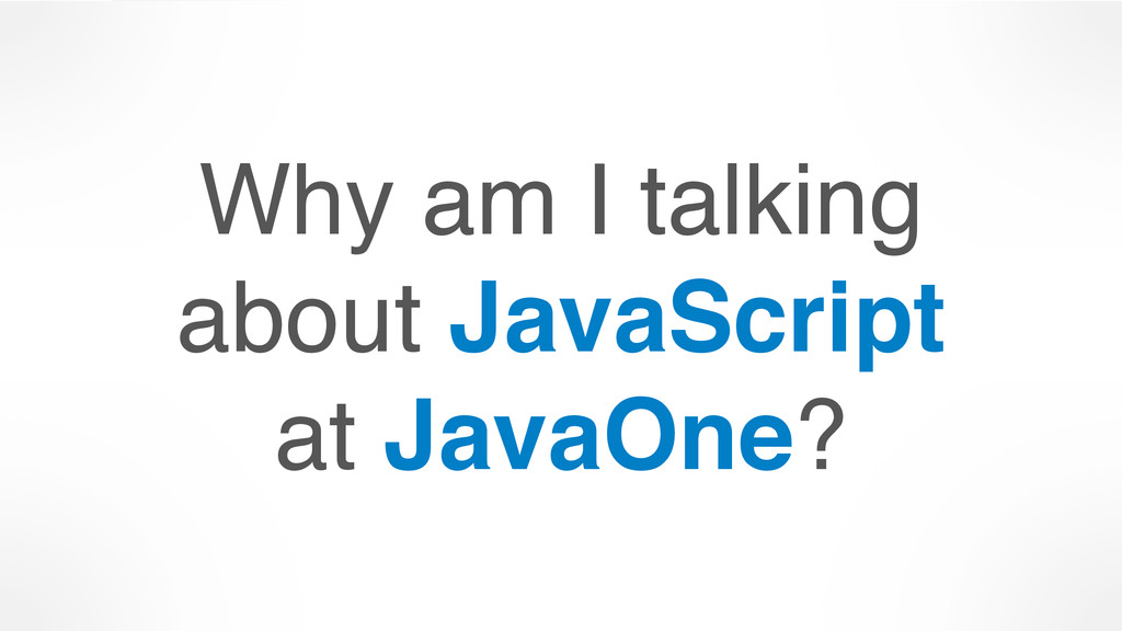 Why am I talking 