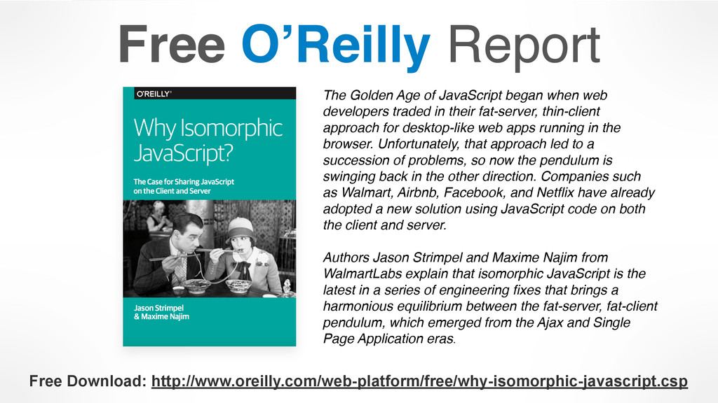 Free O'Reilly Report Free Download: http://www....