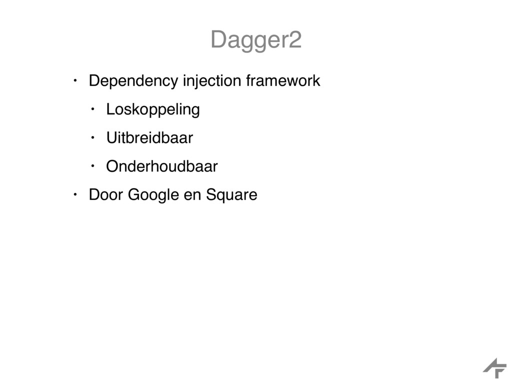 Dagger2 • Dependency injection framework • Losk...