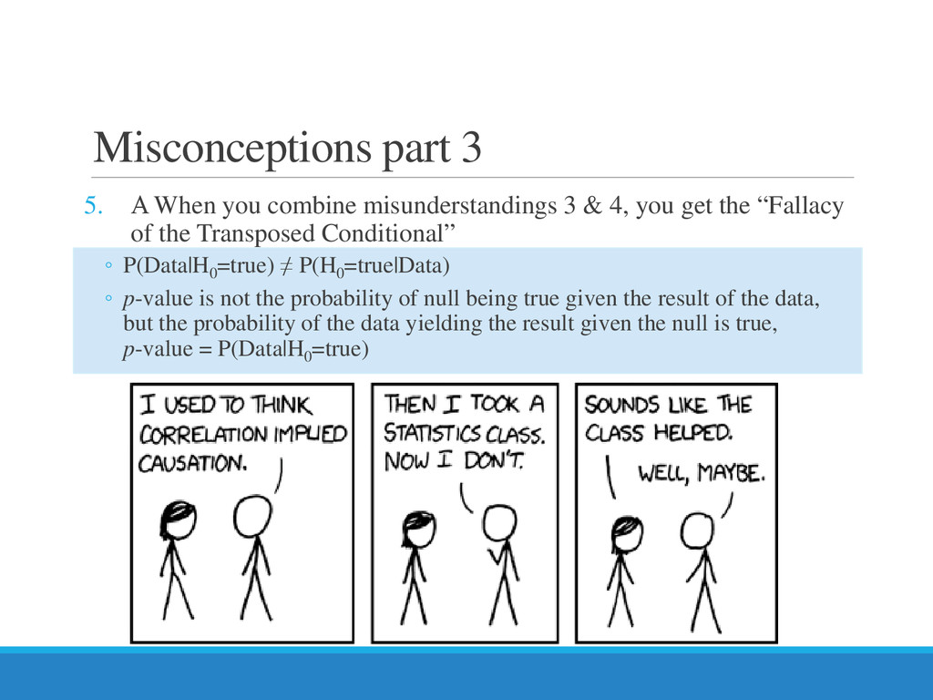 Misconceptions part 3 5. Α When you combine mis...