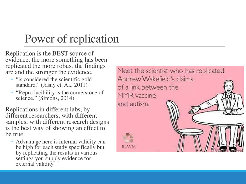 Power of replication Replication is the BEST so...