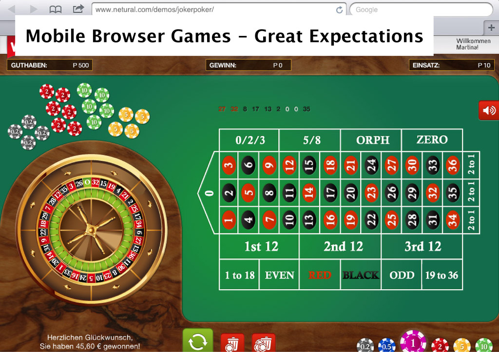 Mobile Browser Games ‑ Great Expectations