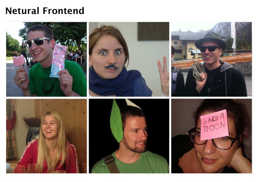 Netural Frontend