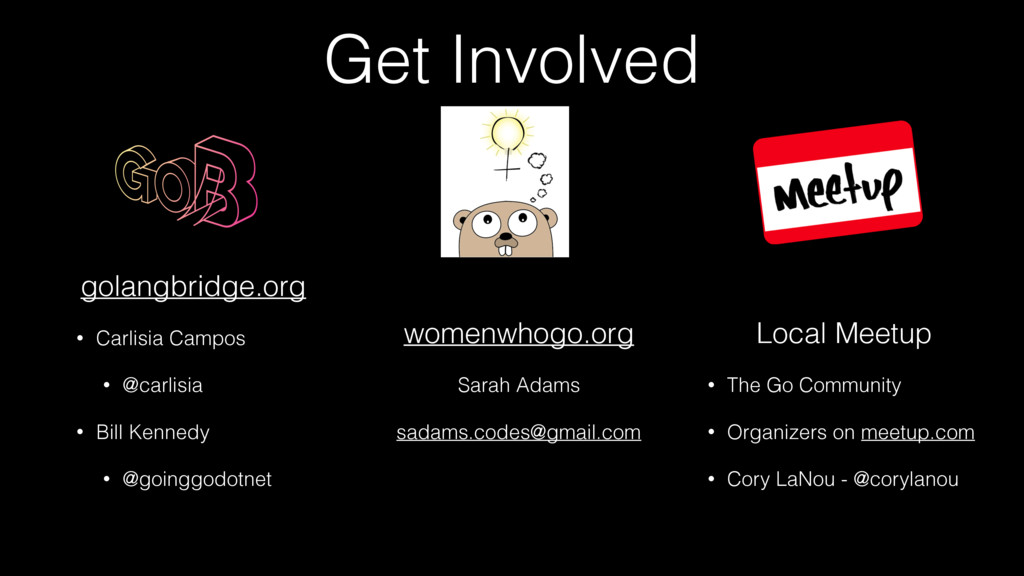 Get Involved womenwhogo.org Sarah Adams sadams....