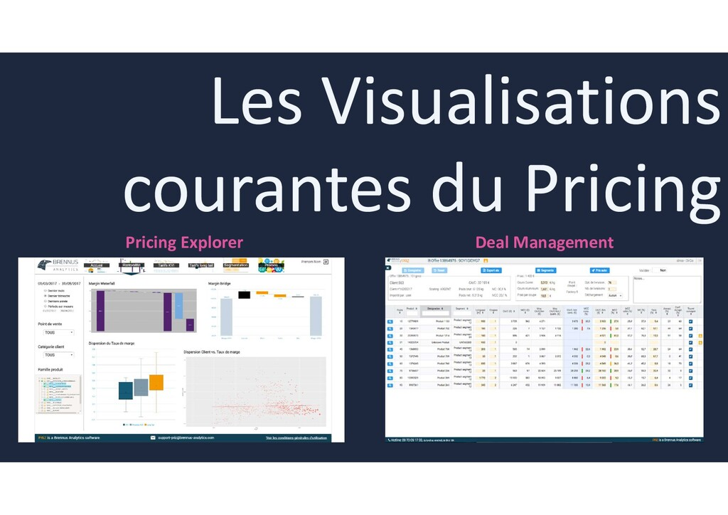 Pricing Explorer Deal Management