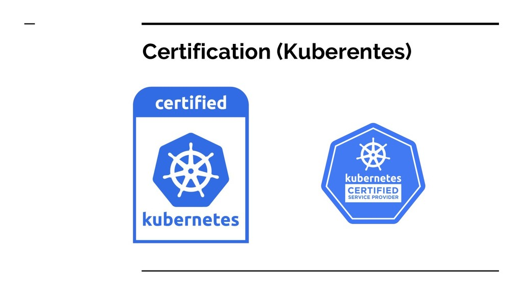 Certification (Kuberentes)
