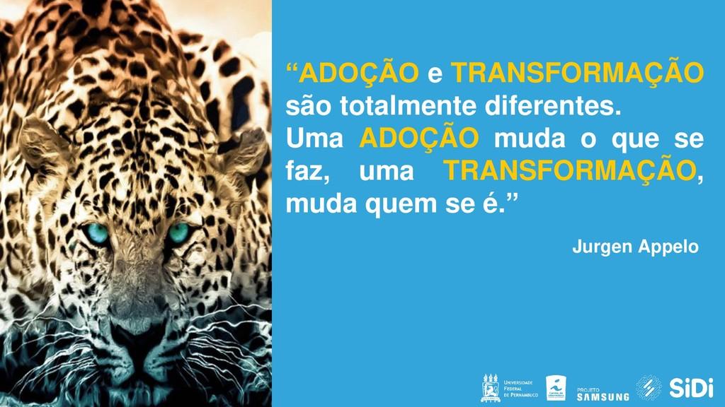 """CONFIDENTIAL """"ADOÇÃO e TRANSFORMAÇÃO são totalm..."""