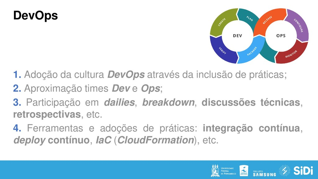 DevOps 1. Adoção da cultura DevOps através da i...