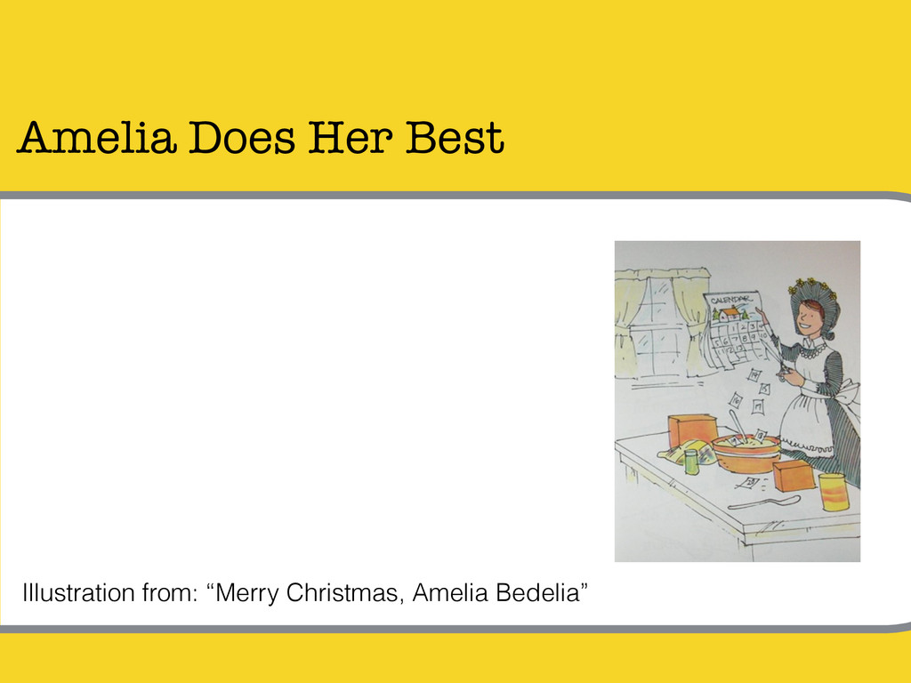 "Amelia Does Her Best Illustration from: ""Merry ..."