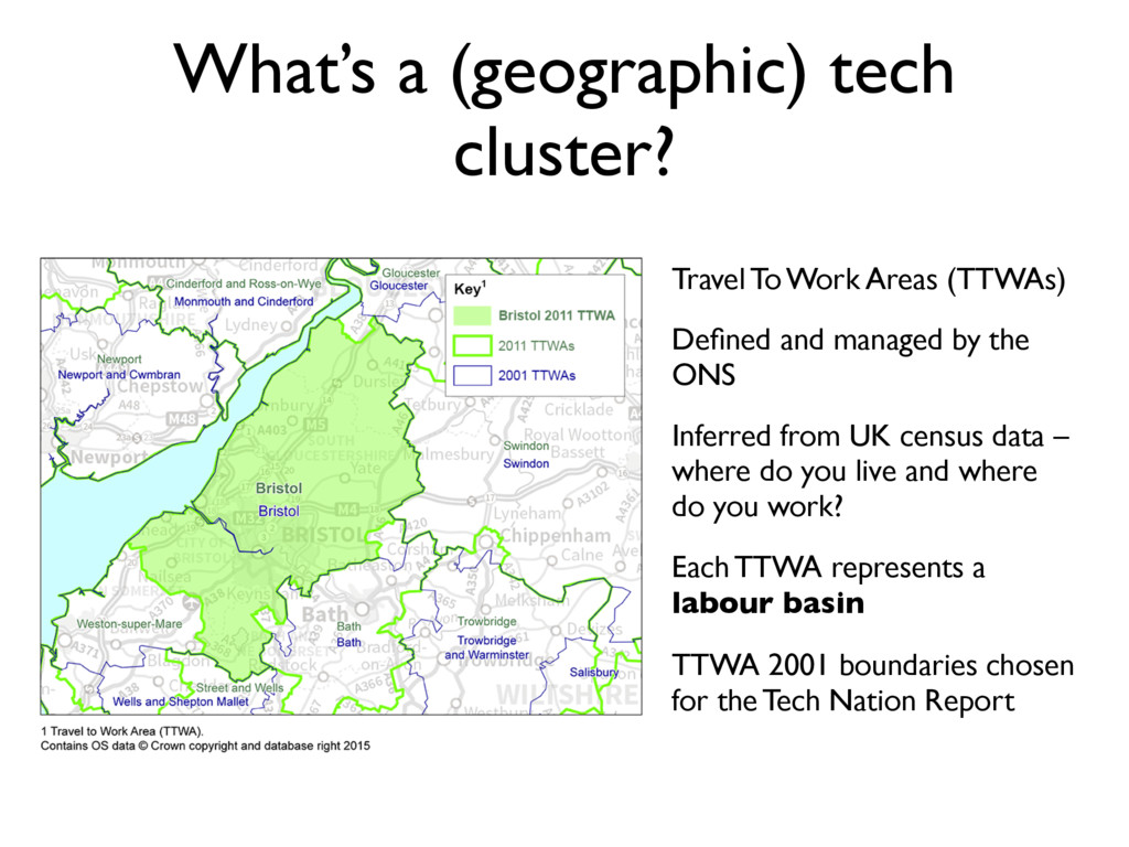 What's a (geographic) tech cluster? Travel To W...