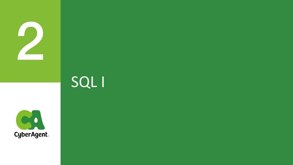 SQL I