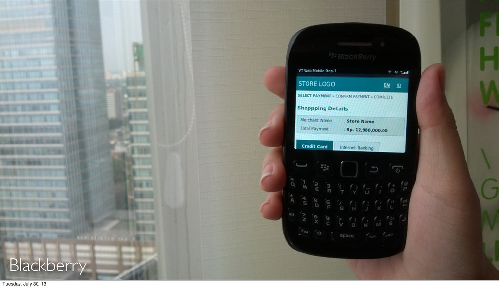 Blackberry Tuesday, July 30, 13
