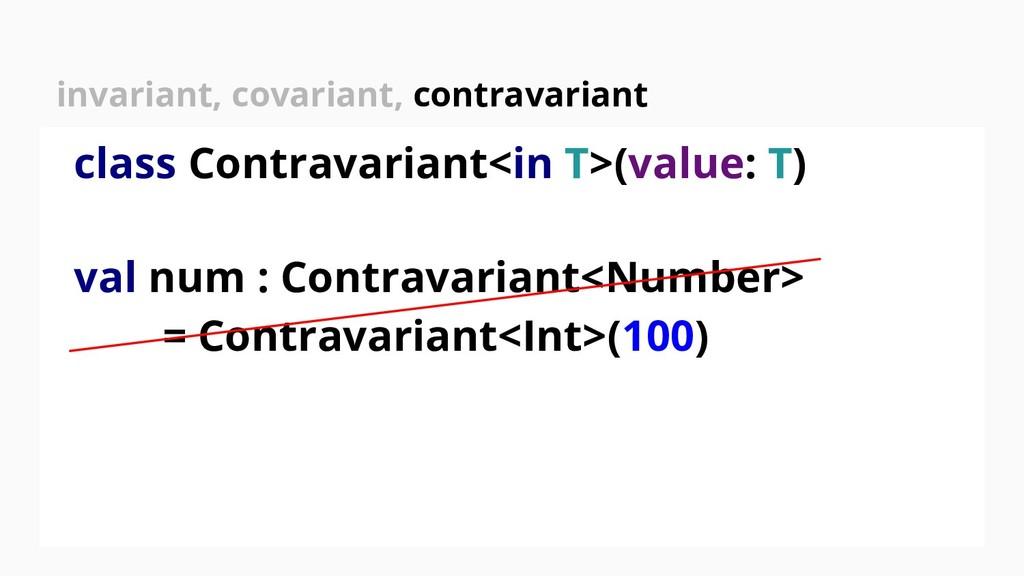 class Contravariant<in T>(value: T) val num : C...