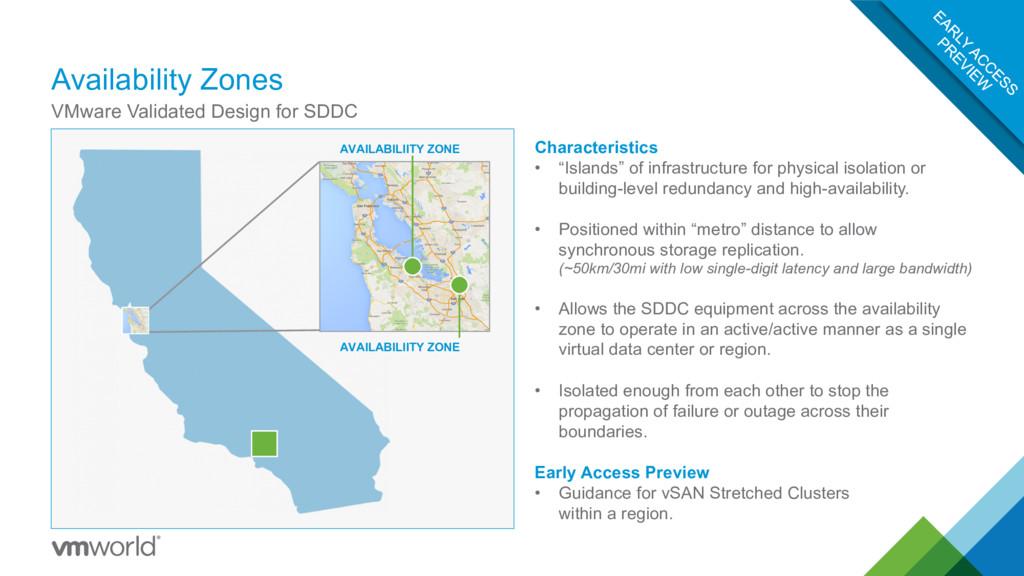 Availability Zones VMware Validated Design for ...