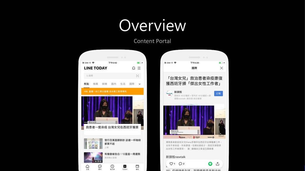 Overview Content Portal