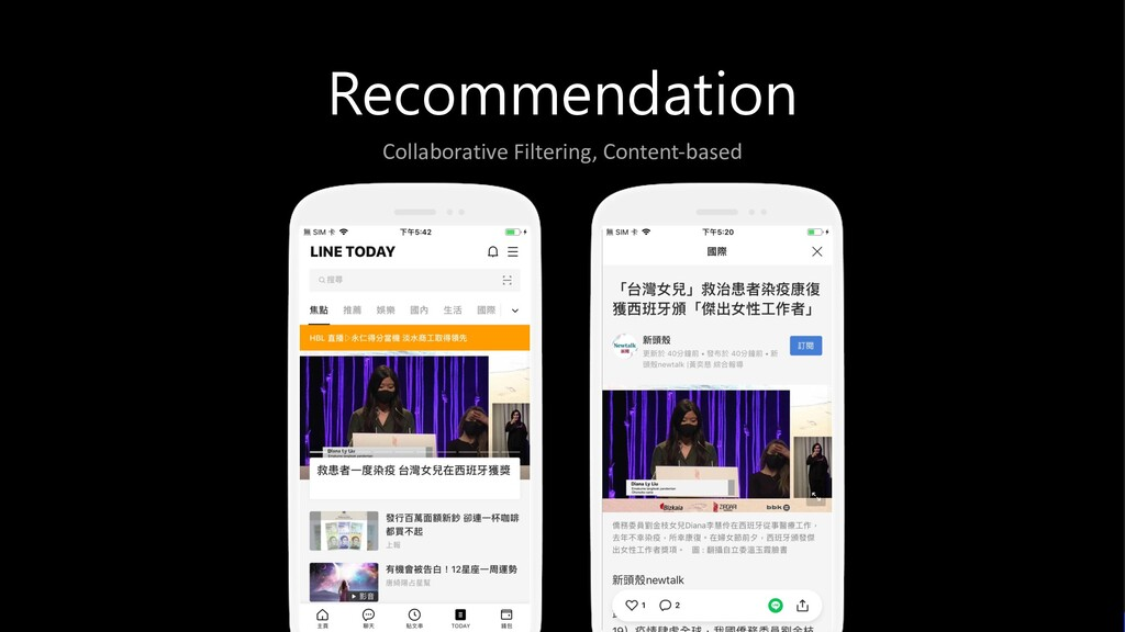 Recommendation Collaborative Filtering, Content...