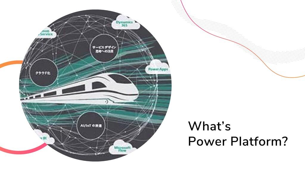6 What's Power Platform?