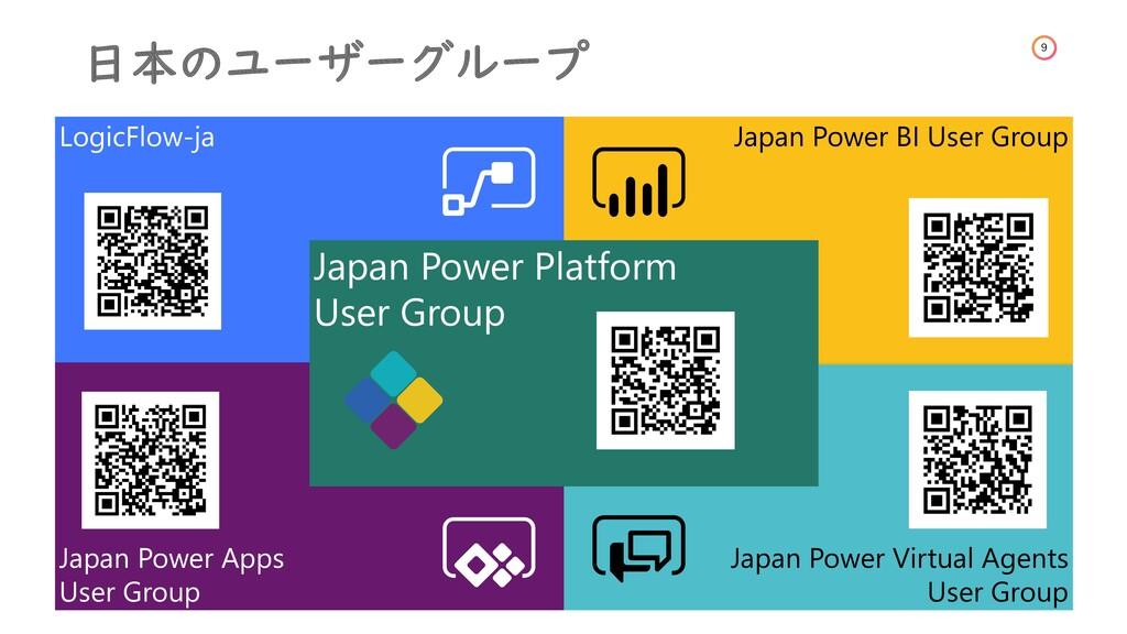 9 日本のユーザーグループ Japan Power Apps User Group Logic...