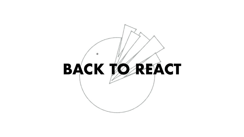 BACK TO REACT