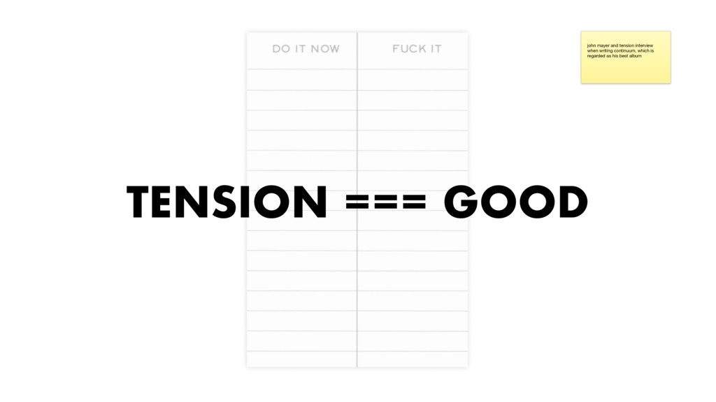 TENSION === GOOD john mayer and tension intervi...