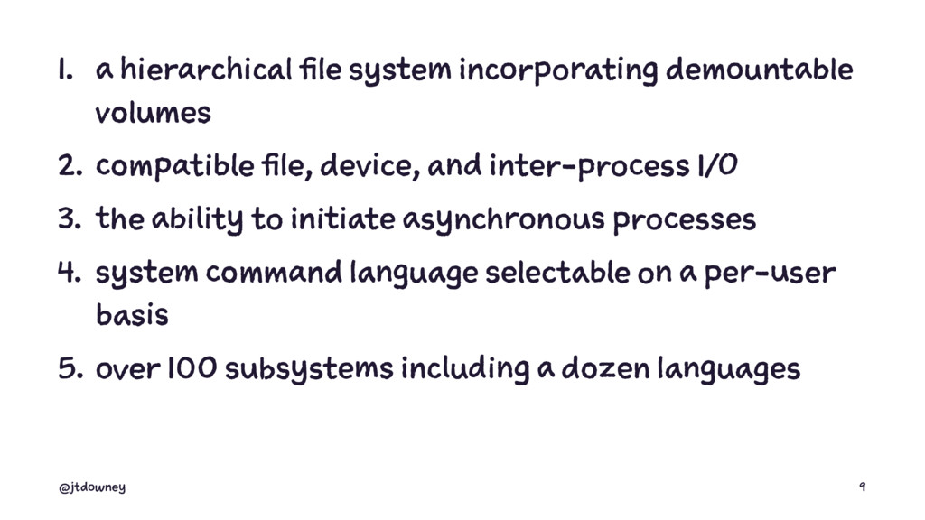 1. a hierarchical file system incorporating dem...