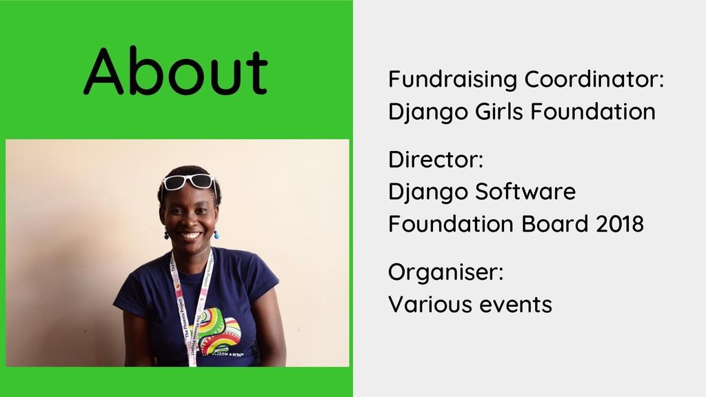 Fundraising Coordinator: Django Girls Foundatio...