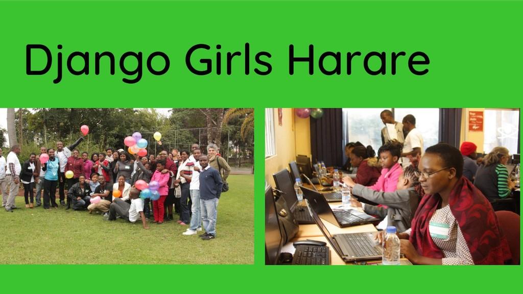 Django Girls Harare