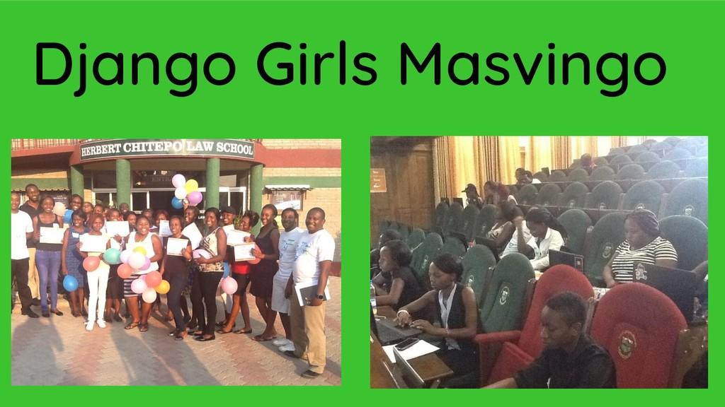 Django Girls Masvingo