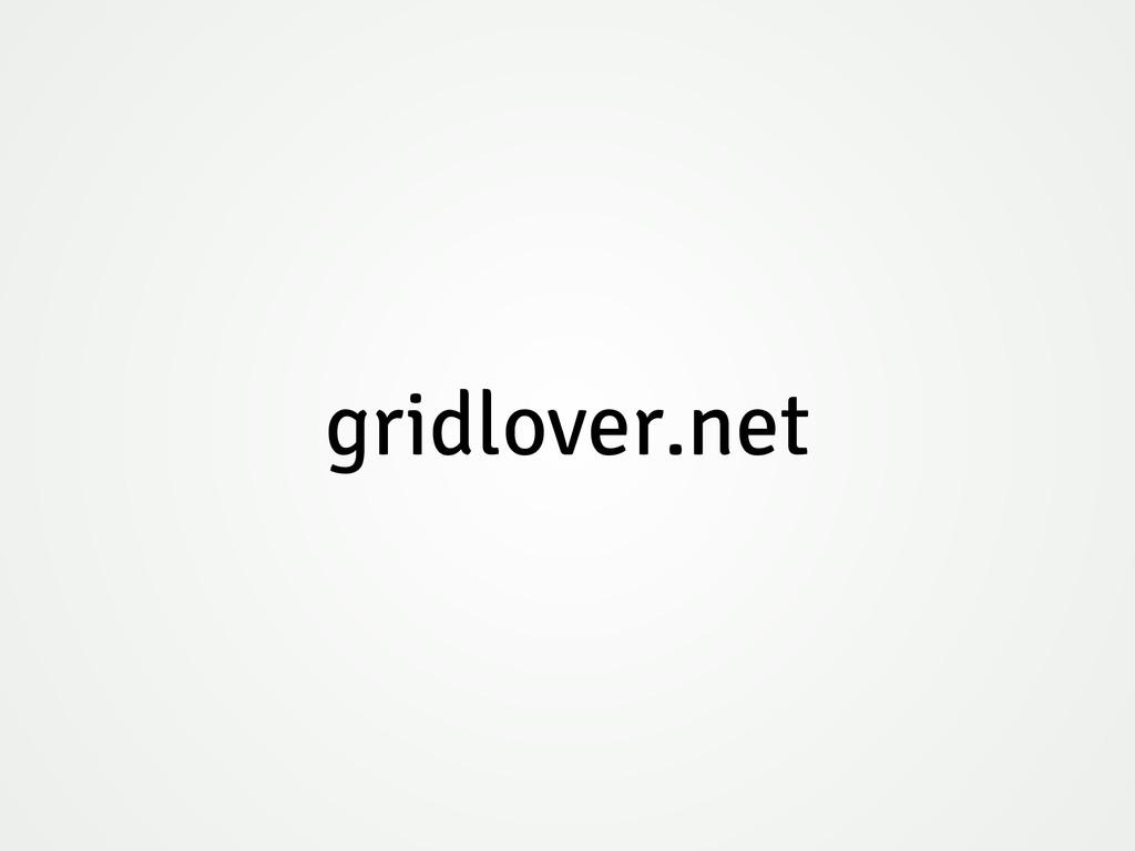 gridlover.net