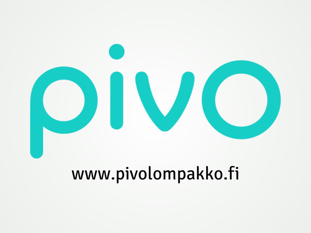 www.pivolompakko.fi