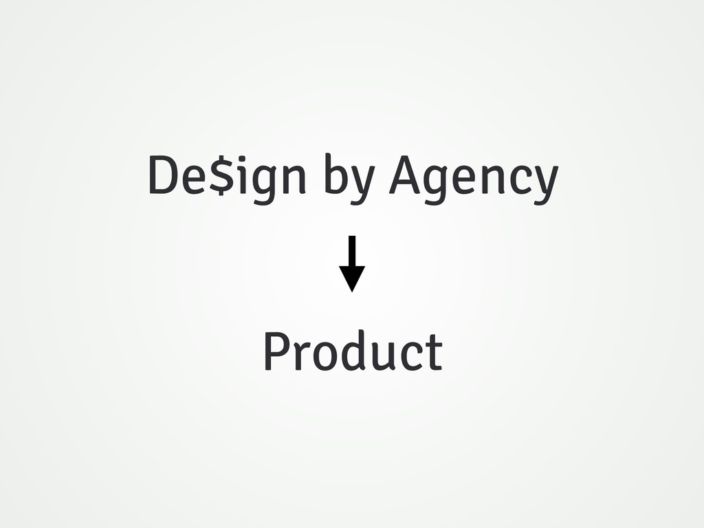 De$ign by Agency Product