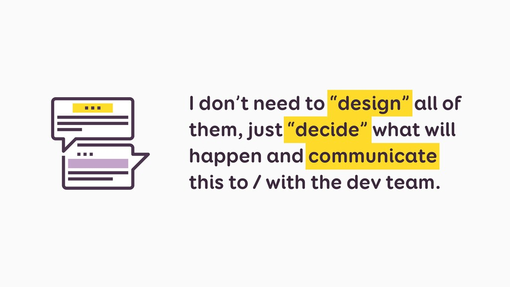 """I don't need to """"design"""" all of them, just """"dec..."""